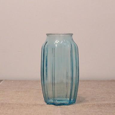 2pcs Vaser og kurv Glass Bord Vase