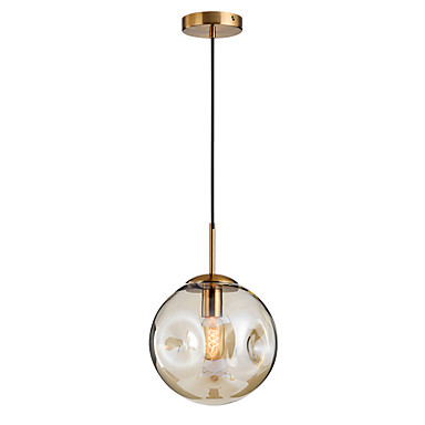 anheng lampe globe glass shademodern justerbar hengende lysarmaturer rundt glass shadenordic enkelhet anheng lys rundt for kjøkken øya stue hall