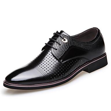 Ανδρικά Τα επίσημα παπούτσια Συνθετικά Άνοιξη / Φθινόπωρο Oxfords Αναπνέει Μαύρο / Καφέ