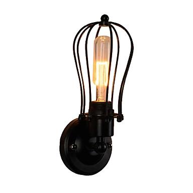 sving arm vegg lysarmaturer kabinett kabinett industriell vegg lampe hode roterbar korridor vegg lamper trapper led veggmontering lys svart