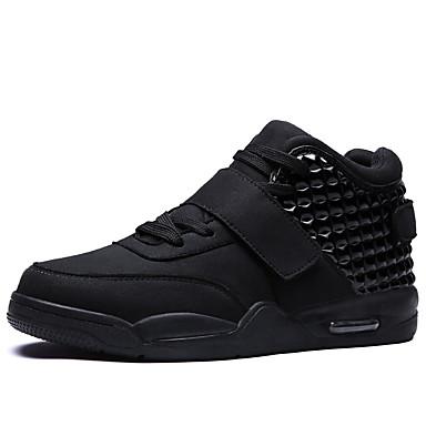 Ανδρικά Suede παπούτσια Σουέτ / PU Άνοιξη / Φθινόπωρο Καθημερινό Αθλητικά Παπούτσια Τρέξιμο Αδιάβροχο Μαύρο / Λευκό / Κόκκινο / Αθλητικό / Μη ολίσθηση / Απορροφητική