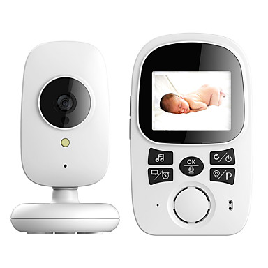 Factory OEM® 0.3 mp Baby Monitor CMOS 72 ° ΝΤΟ Εύρος νυκτερινής όρασης 5 m 0 GHz