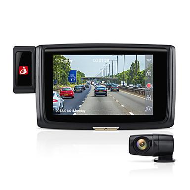 billige Bil-DVR-junsun s660 front 1080p bak1080p 60fps bil dvr kamera adas wifi gps hd nattsyn dash cam video registrator opptaker