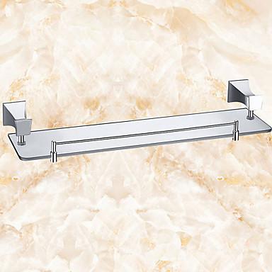 Prateleira de Banheiro Criativo Moderna Latão 1pç - Banheiro Montagem de Parede