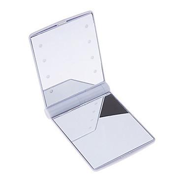 Καλλυντικά καθρέφτες Απλός / Μοδάτο Σχέδιο / Life Μακιγιάζ 1 pcs ABS Quadrate Θηλασμός Απλός / Μοντέρνα Causal / Καθημερινά Ρούχα Machiaj Zilnic Καθημερινά Ασφάλεια Καλλυντικό Είδη καλωπισμού