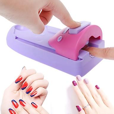 Impressora de arte do prego fácil padrão de impressão selo máquina de manicure stamper tool set nail art equipamentos