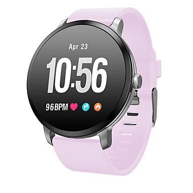 imosi v11 smart klokke ip67 vanntett temperert glass aktivitet fitness tracker hjertefrekvensmåler brede menn kvinner smartwatch