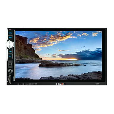 hevxm 999 7 tommers 2 din bil mp5-spiller berøringsskjerm / innebygd Bluetooth / radio for universell Bluetooth-støtte rm / rmvb / mp4 mp3 / wav jpg / høy kvalitet med konkurransedyktig pris