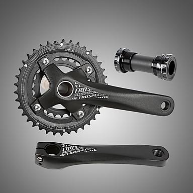 povoljno Dijelovi za bicikl-Cranksets Za Mountain Bike Aluminum Alloy / CNC Pojačana izdržljivost / Izdržljivost / Jednostavna primjena Biciklizam Crn
