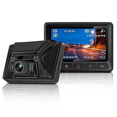 billige Bil-DVR-junsun s390 dashcam 4k 2880 * 2160p ultra hd nattsyn sony imx335 innebygd gps wifi bil dvr kamera dashcam videoopptaker
