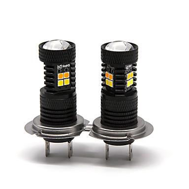 otolampara 2 pcs 16 w 1400lm dual cores spot light h7 levou lâmpadas