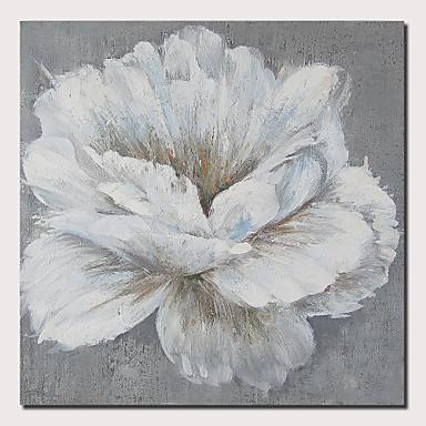 Trykk Valset lerretskunst Strukket Lerret Trykk - Botanisk Blomstret / Botanisk Moderne Kunsttrykk