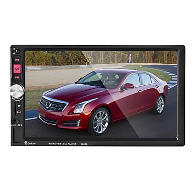 levne Auto Elektronika-7 palcový 2 din car mp5 přehrávač dotyková obrazovka / mp3 / vestavěný bluetooth pro univerzální podporu Bluetooth rm / rmvb / mp4 mp3 / typ auto mp5 přehrávač / model mp5-7080b