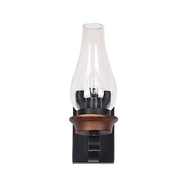 Ρετρό / Βίντατζ / Χώρα Λαμπτήρες τοίχου Δωμάτειο Μελέτης / Γραφείο / Καταστήματα / Καφετέριες Μέταλλο Wall Light 110-120 V / 220-240 V