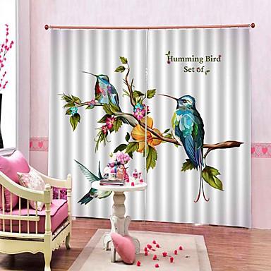 Estilo pastoral flores e cortinas de interesse moderno simples à prova de som isolamento térmico cortina de tecido para sala de estar decoração do quarto cortina ready made
