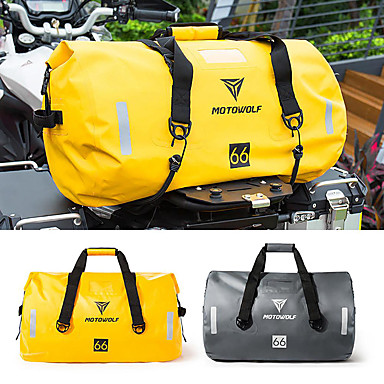 voordelige Auto-organizers-40l / 66l / 90l motorfiets touring waterdichte droge bagagetas motor roll pack buiten