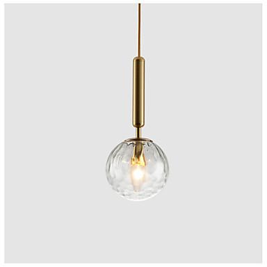 Esfera Luzes Pingente Luz Ambiente Galvanizar Acabamentos Pintados Metal Vidro 110-120V / 220-240V