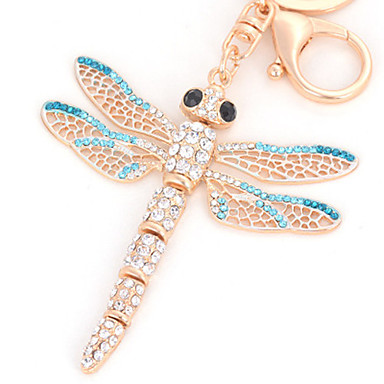 cheap Keychains-Keychain Dragonfly Key Chain Creative Metal For Adults' Boys' Girls' Birthday 1 pcs / 14 Years & Up