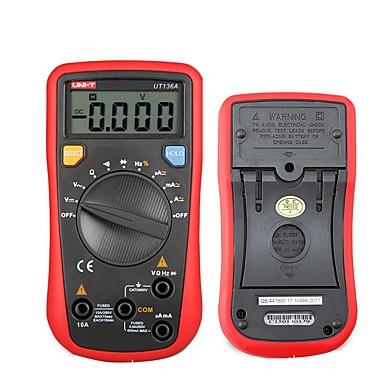 uni-t ut136a moderne digitale multimetre automatisk rekkevidde kontinuitet summer capacitance ohm tester plikt syklus diode