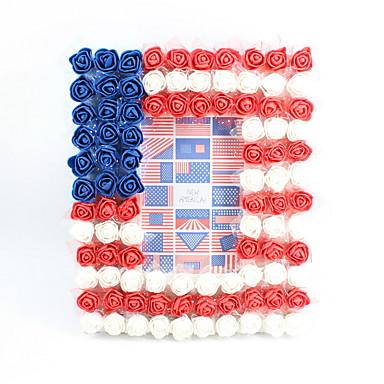 2019 ny mote plast / pe blomst blomst / briller 4x6 tommer rammer ren håndlagde moderne stil desktop flagg av oss dekorasjon ramme