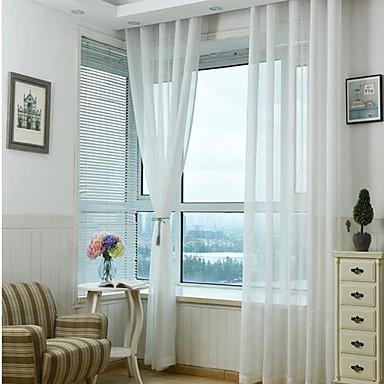 Ren To paneler Ren Stue   Curtains / Kviltet