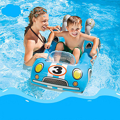 cheap Inflatable Ride-ons & Pool Floats-Inflatable Pool Float Donut Pool Float Swim Rings Inflatable Pool Plastic Summer Police Pool Kid's Adults'