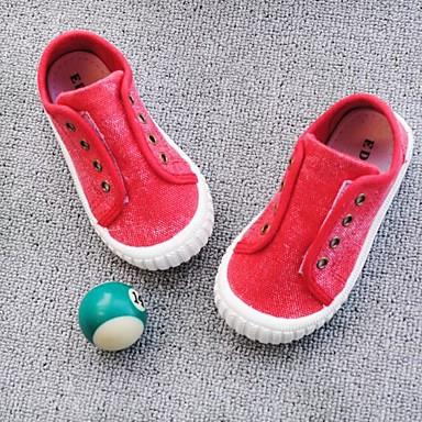 Κοριτσίστικα Ανατομικό Πανί Αθλητικά Παπούτσια Τα μικρά παιδιά (4-7ys) / Μεγάλα παιδιά (7 ετών +) Πορτοκαλί / Κόκκινο / Μπλε Άνοιξη / Φθινόπωρο