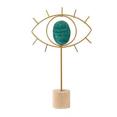 Dekorative gjenstander, Metall Moderne Moderne til Hjemmedekorasjon Gaver 1pc