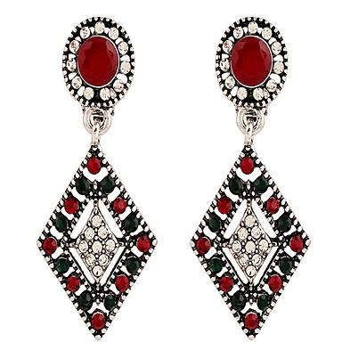 povoljno Modne naušnice-Žene Klipse Geometrijski blažen Naušnice Jewelry Duga Za Dnevno Festival 1 par