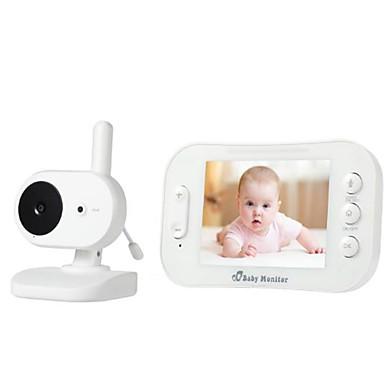 Factory OEM® 0.3 mp Baby overvåkning CMOS 70 ° ° C Night Vision Range 5 m 0 GHz