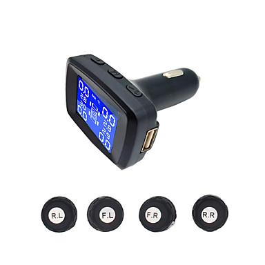 billige Dekkmålere-TY14 Bil Dekktrykkovervåkningssystem til Universell Alle år Universell Måler Advarsel / Høy temperatur alarm