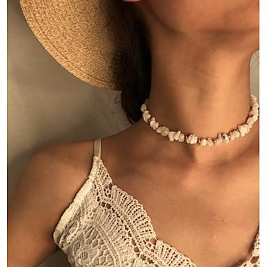 Γυναικεία Κρεμαστό Ρομαντικό Μοντέρνα χαριτωμένο στυλ Πέτρινο Λευκό Διαφανές 30 cm Κολιέ Κοσμήματα 1pc Για Δώρο Καθημερινά Απόκριες Αργίες Φεστιβάλ