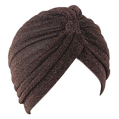 levne Novinky-Yiwu pby_02wb jasný hedvábný polyester indický klobouk muži a ženy blízkovýchodní muslimský turban klobouk fialový