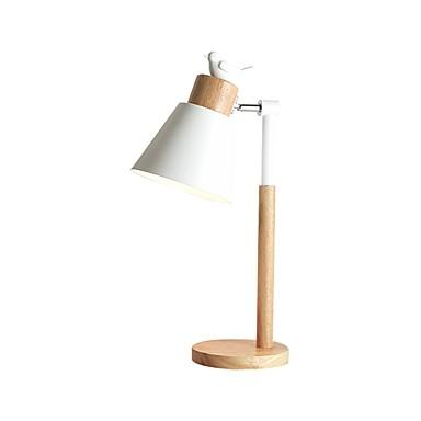 mote enkelt bord lett metall skrivebord lysarmaturer moderne moderne nydelig / ny design bordlampe for studie rom / kontor / stue tre
