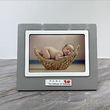 Σύγχρονη Σύγχρονη ABS + PC Βαμμένα τελειώματα Κορνίζες, 2pcs