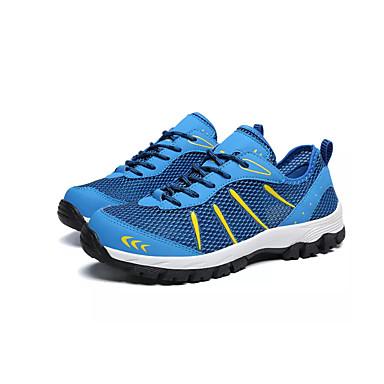 Ανδρικά Παπούτσια άνεσης PU Καλοκαίρι Αθλητικά Παπούτσια Περπάτημα Καφέ / Μπλε / Γκρίζο