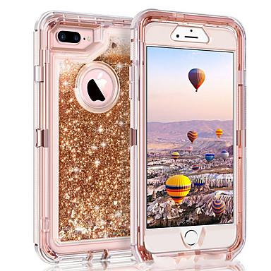 povoljno Apple oprema-Θήκη Za Apple iPhone XS / iPhone XR / iPhone XS Max S tekućinom / Šljokice Stražnja maska Šljokice Tvrdo PC