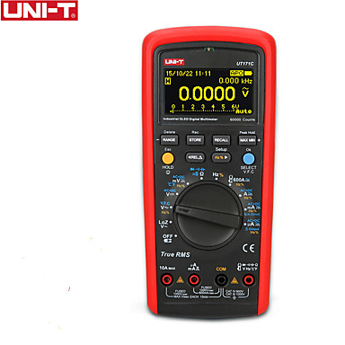 preiswerte Digitale Multimeter und Oszilloskope-uni-t ut171c industrie-effektiv-digitalmultimeter / oled-anzeige / loz niederohmiger eingang / vfc-frequenzmessung / usb / bluetooth