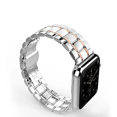 preiswerte Blitzverkauf-Uhrenarmband für Apple Watch Serie 4/3/2/1 Apple Classic Buckle Edelstahlarmband