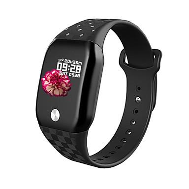 as04 smart armbånd ip67 vanntett blodtrykk blod oksygen hjertefrekvensmåler sport smart armbånd