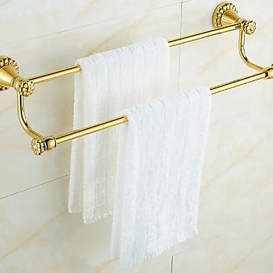 Hylle til badeværelset Kreativ Moderne Messing 1pc Vægmonteret