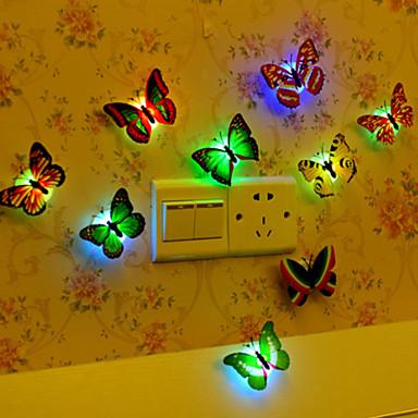 1pc Natt Lys Knapp batteridrevet Kreativ 5 V