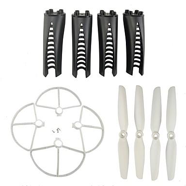 MJX B5W F20 1set Propellbeskytter / propeller / Landestøtter Rc Kvadrokoptere Rc Kvadrokoptere ABS + PC Lav lyd / Beste kvalitet / Enkel å installere