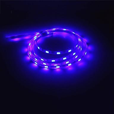 1m Ευέλικτες LED Φωτολωρίδες 60 LEDs 5730 SMD Θερμό Λευκό / Άσπρο / Κόκκινο Δημιουργικό / USB / Πάρτι Τροφοδοτείται μέσω USB 1pc