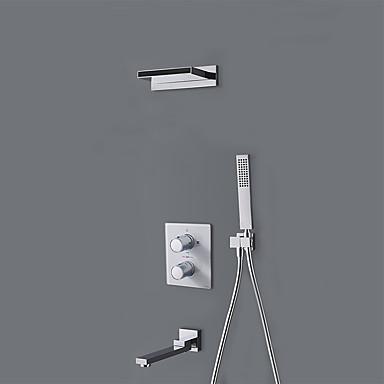 Dusjkran - Moderne Krom Annet Keramisk Ventil Bath Shower Mixer Taps