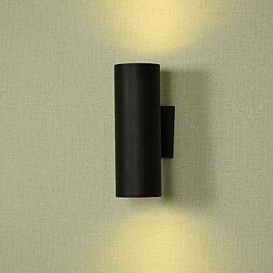 Matt LED / Moderne Moderne Utendørs Vegglamper Utendørs Metall Vegglampe IP65 Generisk