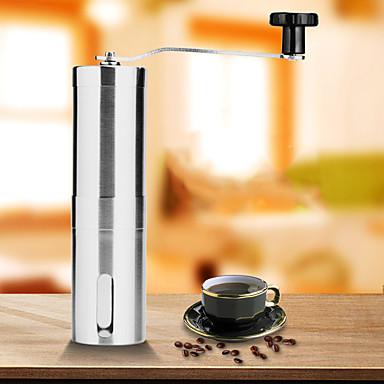 Μύλος καφέ Μηχανή λείανσης καφέ Μονό Mini Πολύ Ελαφρύ (UL) Γρήγορο Στέγνωμα Για 1 άτομο Ανοξείδωτο Ατσάλι ΕΞΩΤΕΡΙΚΟΥ ΧΩΡΟΥ Κατασκήνωση Ταξίδι Πικνίκ Ασημί