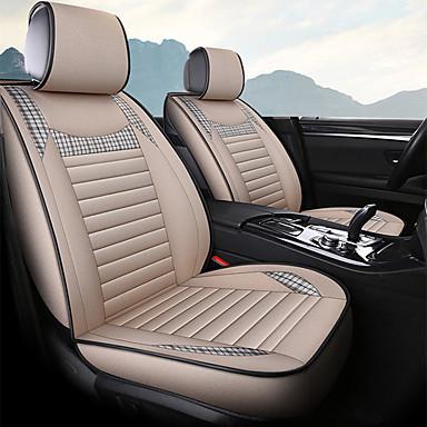 voordelige Auto-interieur accessoires-autostoelhoes business ademend boekweit linnen vier seizoenen autostoelkussen algemeen zitkussen / vijf stoelen / algemene motoren stoelhoes