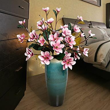 Kunstige blomster 10 Gren Klassisk Moderne Moderne Evige blomster Bordblomst