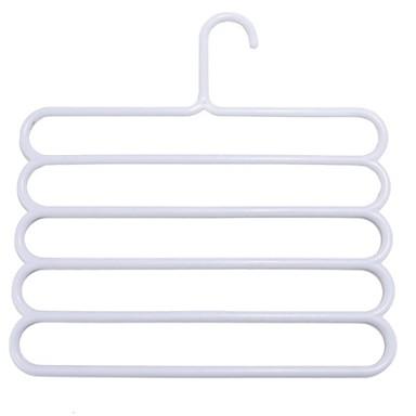 Plástico Multi funções / Antiderrapante Roupa Cabide, 1pç